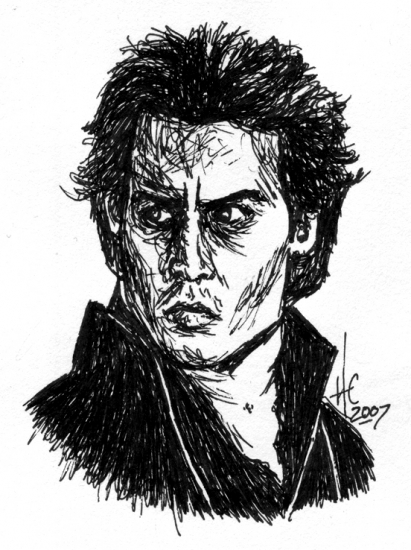 Johnny Depp by HeatherCromwell